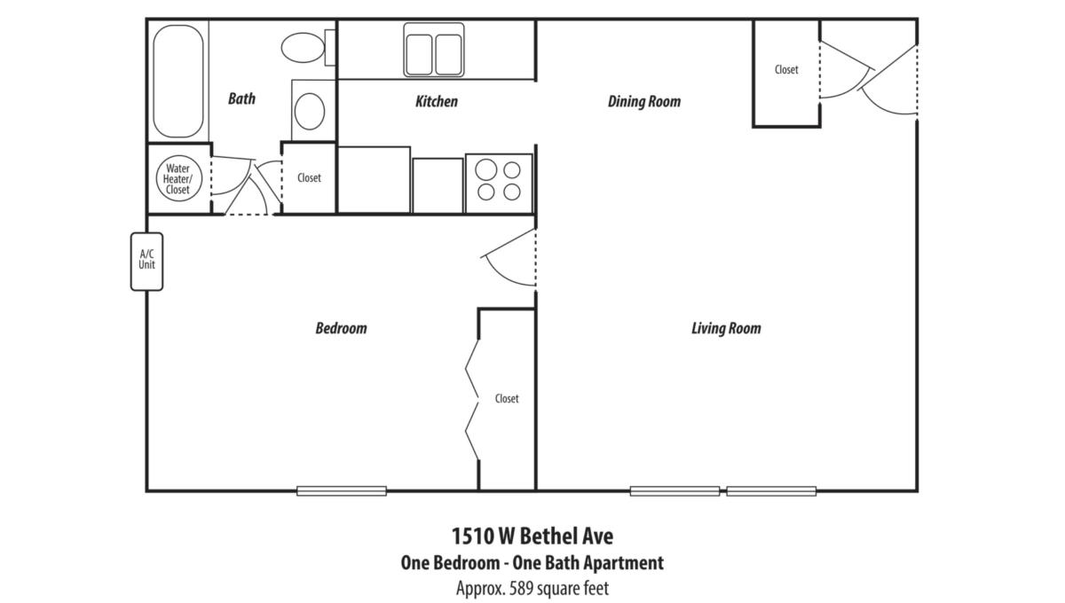 1510 Bethel Floor Plan