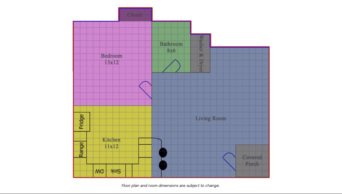1007 Rex Floor Plan